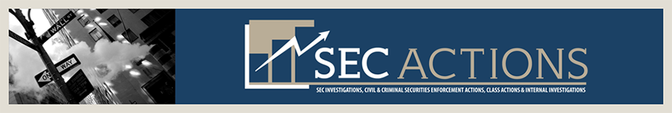 SEC ACTIONS